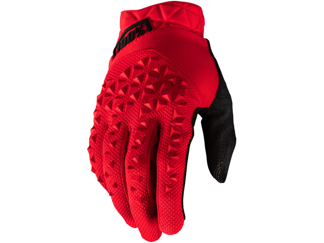 100% Geomatic Gloves red